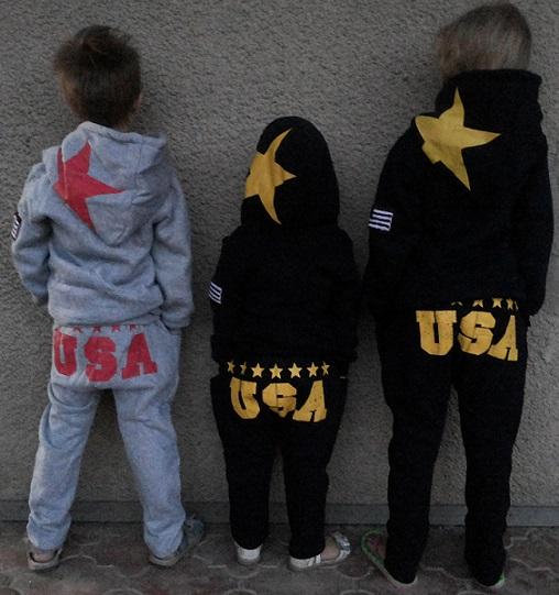 Теплые спортивные костюмы для мальчиков