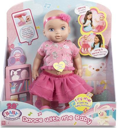 Кукла, Baby Born, танцующая. в наличии!  Производитель Zarf Creation оригинал из США.